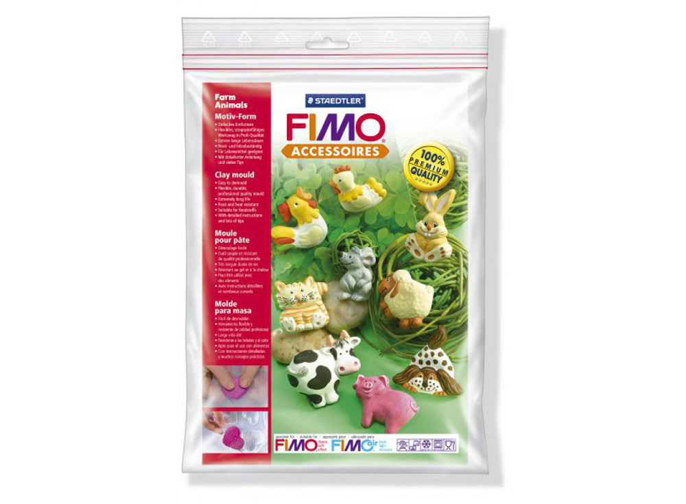Формы FIMO «Животные фермы»Инструменты для лепки<br><br><br>Артикул: 8742_01