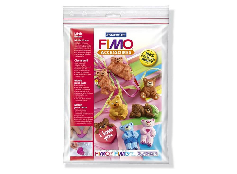 Формы FIMO «Маленькие медведи»Инструменты для лепки<br><br><br>Артикул: 8742_03