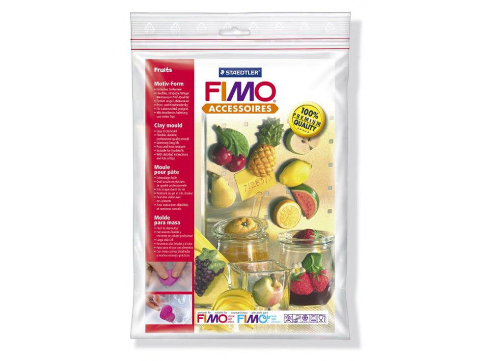 Формы FIMO «Фрукты»Инструменты для лепки<br><br><br>Артикул: 8742_42