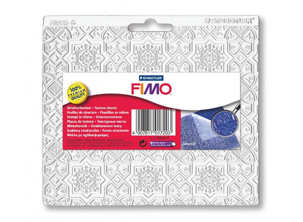 Текстурный лист FIMO «Восточный»Инструменты для лепки<br><br><br>Артикул: 8744_11<br>Размер: 150x168