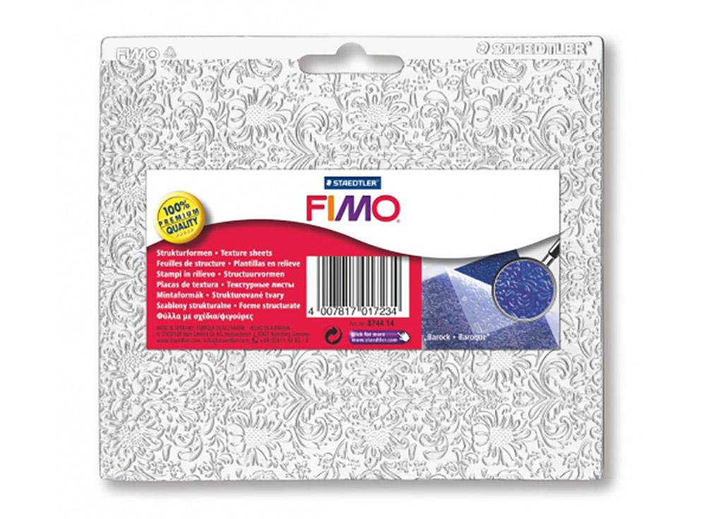Текстурный лист FIMO «Барокко»Полимерная глина<br><br>