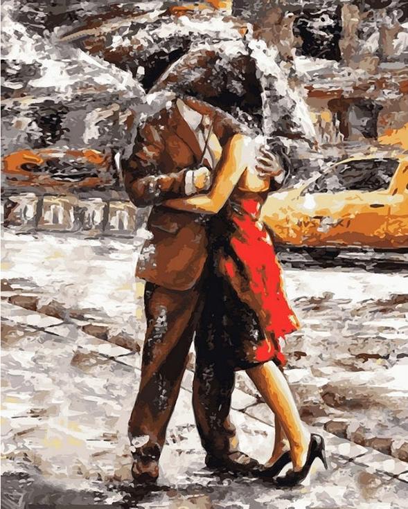 «Любовь под дождем» Эмерико ТотаPaintboy (Premium)<br><br><br>Артикул: GX8619<br>Основа: Холст<br>Сложность: средние<br>Размер: 40x50 см<br>Количество цветов: 27<br>Техника рисования: Без смешивания красок
