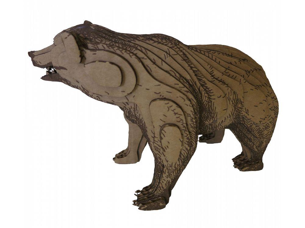 3D-пазл PandaPuzzle «Медведь»PandaPuzzle<br>3D-пазл PandaPuzzle ? головоломка от отечественного торгового бренда, который специализируется на выпуске трехмерных пазлов разной тематики. Все пазлы от PandaPuzzle выполнены из экологически безопасных материалов, имеют продуманный и реалистичный дизайн ...<br><br>Артикул: АВ 1509<br>Размер: 20x13,5x10 см<br>Материал: Гофрокартон<br>Вес упаковки: 260 г<br>Вес модели: 138 г<br>Размер упаковки: 26x19,5x9 см<br>Возраст: от 5 лет