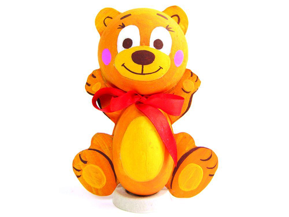 Набор для творчества «Медвежонок»Фигурки из папье-маше<br><br><br>Артикул: В01671<br>Основа: Заготовки из прессованной бумажной массы<br>Размер: 19,3x19,3x5 см<br>Возраст: от 5 лет