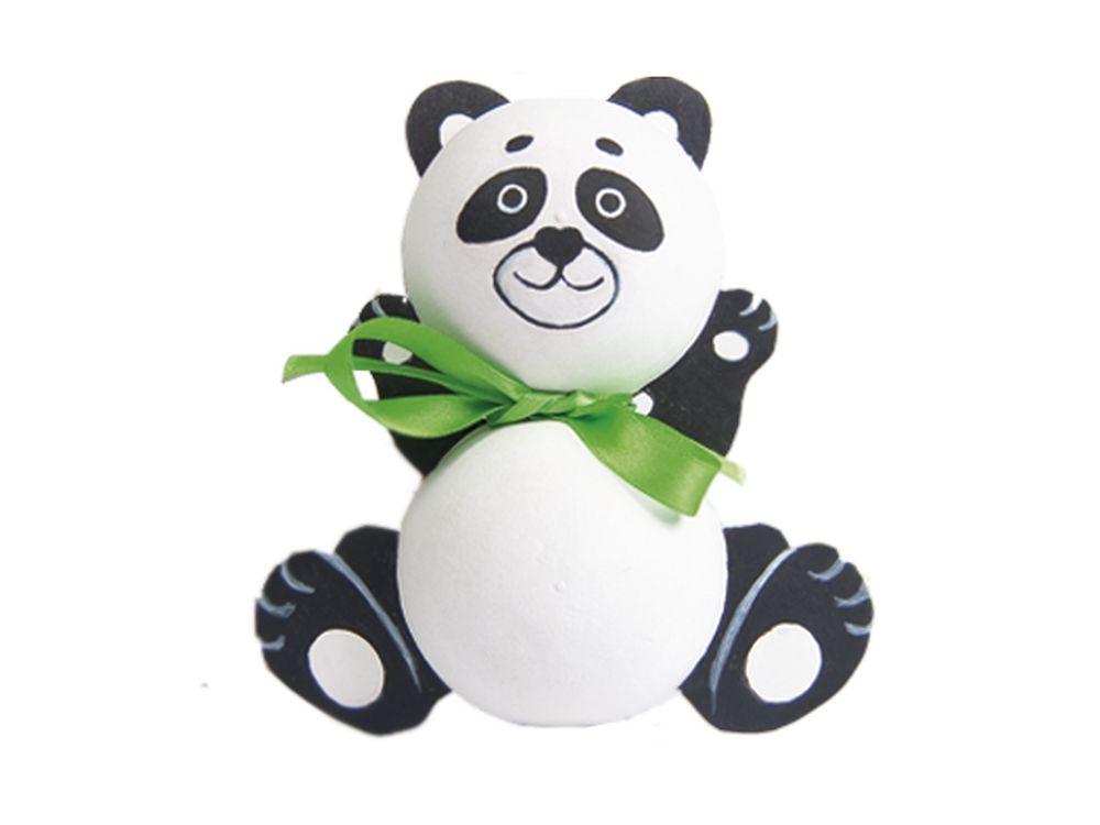 Набор для творчества «Панда»Фигурки из папье-маше<br><br><br>Артикул: В01761<br>Основа: Заготовки из прессованной бумажной массы<br>Размер: 19,3x19,3x5 см<br>Возраст: от 5 лет