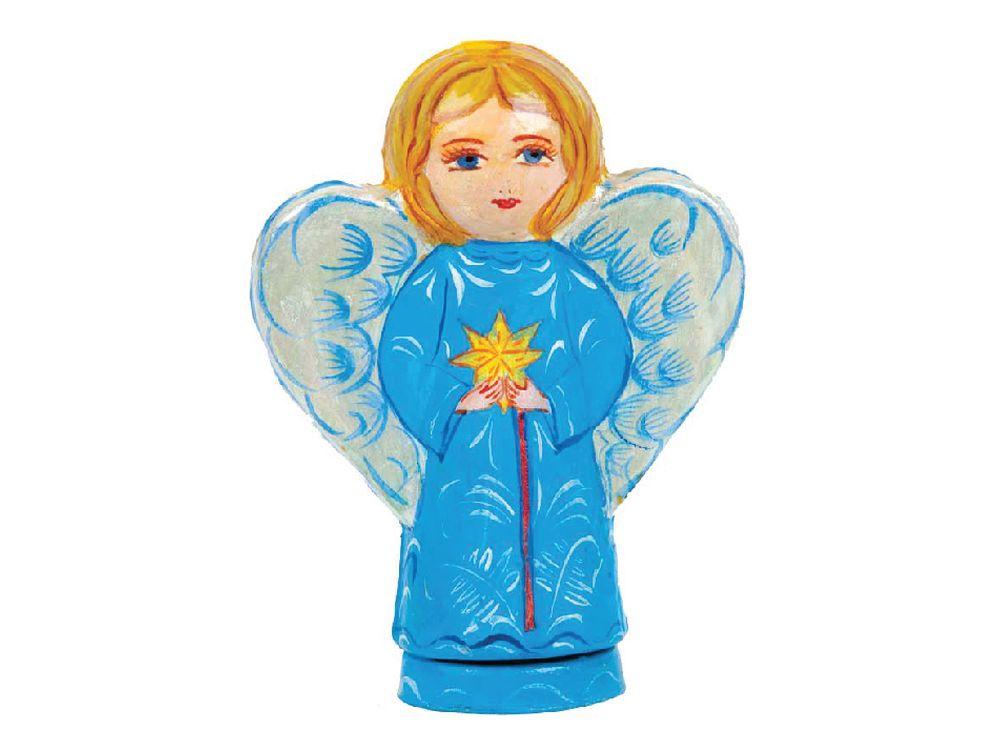 Набор для творчества «Ангел Сердце»Фигурки из папье-маше<br><br><br>Артикул: В0220<br>Основа: Заготовки из прессованной бумажной массы<br>Размер: 15x22 см<br>Возраст: от 5 лет