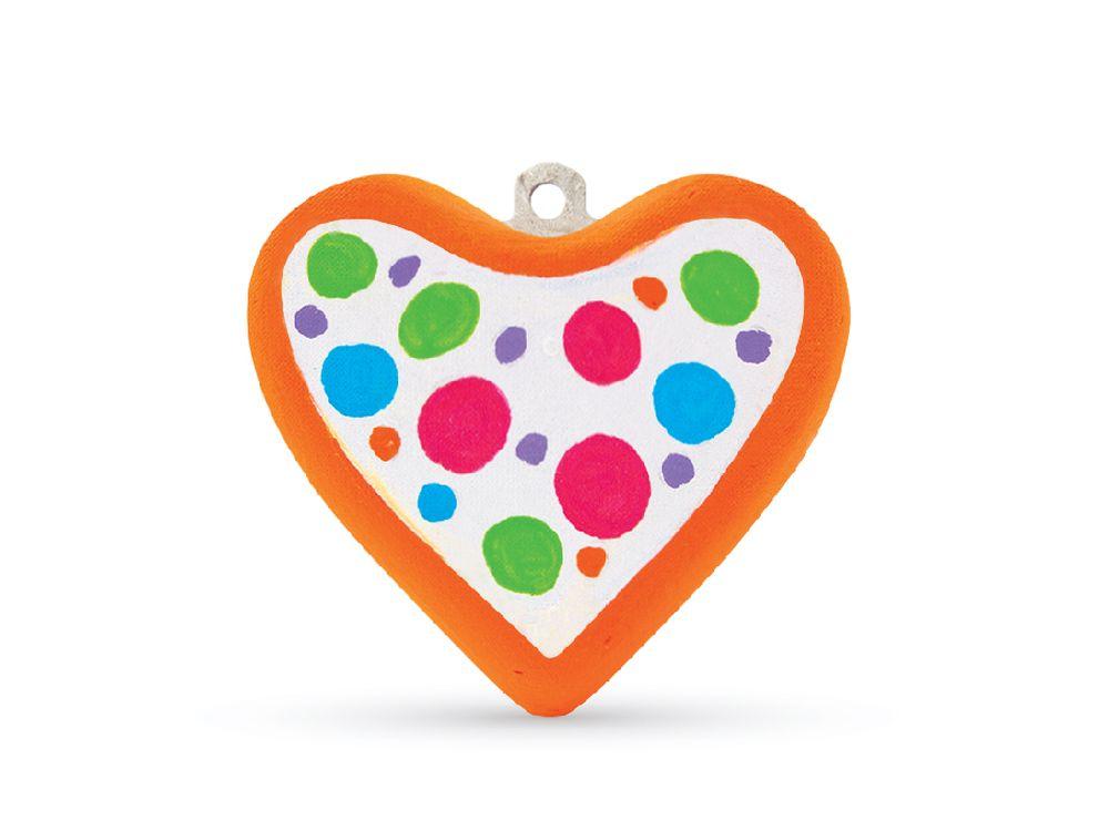 Набор для творчества «Сердце»Фигурки из папье-маше<br><br><br>Артикул: В0250<br>Основа: Заготовки из прессованной бумажной массы<br>Размер: 15x22 см