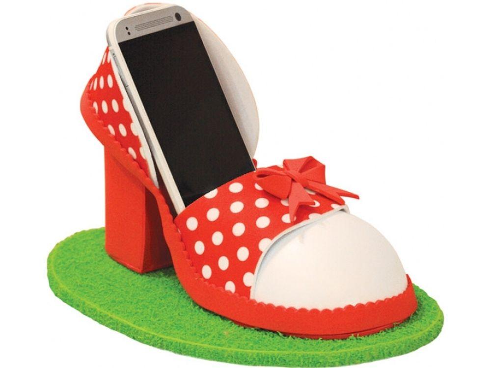 Функциональная модель «Подставка декоративная туфелька»Наборы из фоамирана<br><br><br>Артикул: ФТ001<br>Размер: Высота 20-25 см<br>Возраст: от 8 лет