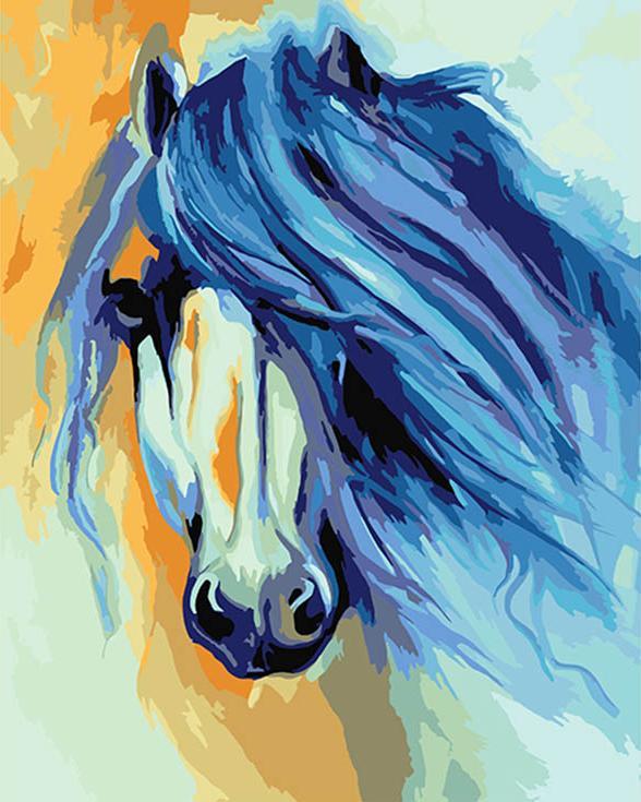 «Лошадь» Марсии БолдуинАртвентура<br><br><br>Артикул: 02ART50400124<br>Основа: Холст<br>Сложность: средние<br>Размер: 40x50 см<br>Количество цветов: 24<br>Техника рисования: Без смешивания красок