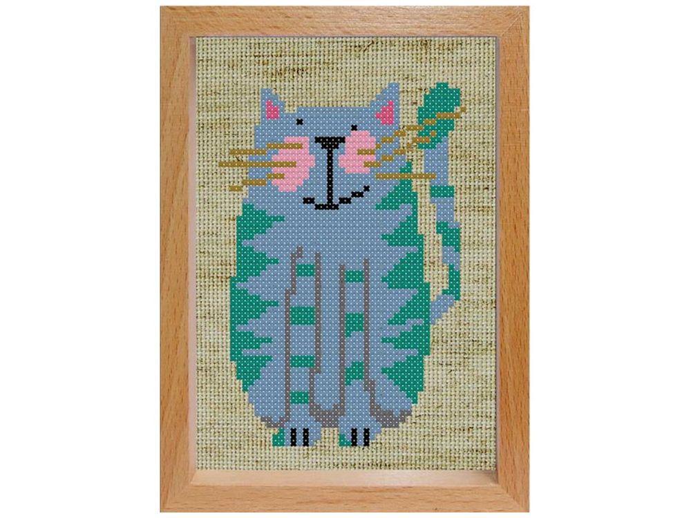 Набор для вышивания «Весёлый котик»Белоснежка<br><br><br>Артикул: 105-EF<br>Основа: льняная<br>Размер: 15x11<br>Техника вышивки: двухсторонний счетный крест<br>Тип схемы вышивки: Цветная схема вышивки<br>Количество цветов: 7