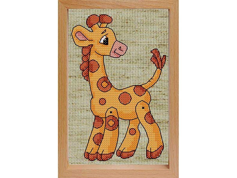 Набор для вышивания «Жираф»Белоснежка<br><br><br>Артикул: 200-EF<br>Основа: льняная<br>Размер: 17x12 см<br>Техника вышивки: счетный крест<br>Тип схемы вышивки: Цветная схема<br>Количество цветов: 8<br>Рисунок на канве: не нанесён<br>Техника: Вышивка крестом