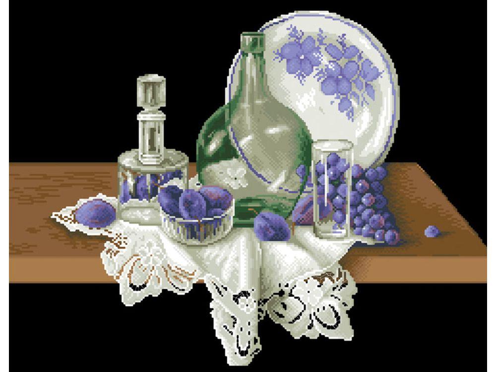 Набор для вышивания «Голубой натюрморт»Вышивка крестом<br><br>