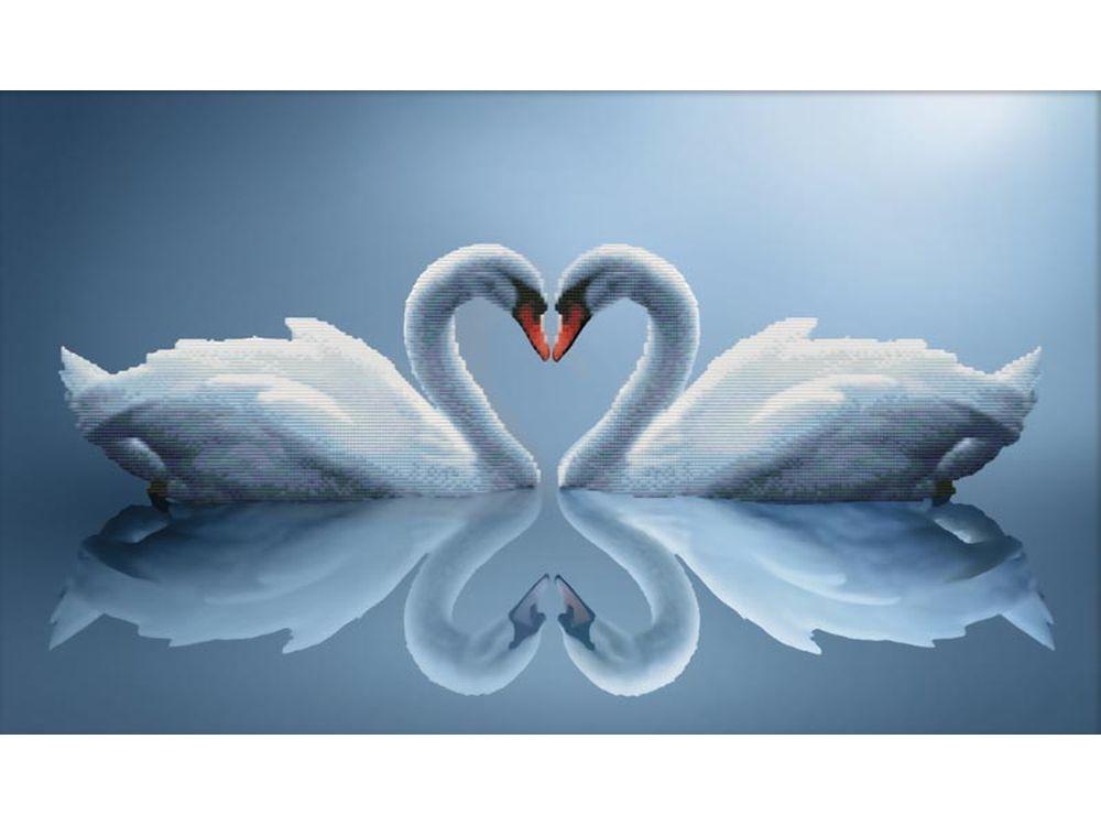 Набор для вышивания «Отражения любви»Белоснежка<br><br><br>Артикул: 7075-3D<br>Основа: канва Aida 11<br>Размер: 74x47 см<br>Техника вышивки: несчетный крест<br>Тип схемы вышивки: Цветная схема<br>Рисунок на канве: нанесён рисунок и схема<br>Техника: Вышивка крестом