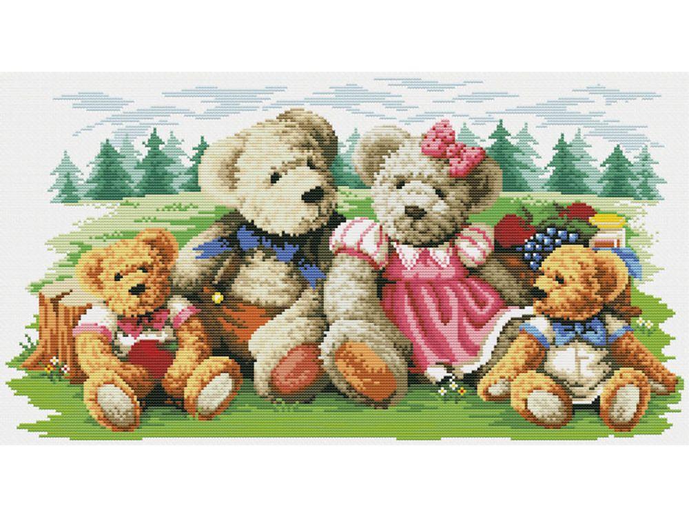 Набор для вышивания «Пикник»Белоснежка<br><br>