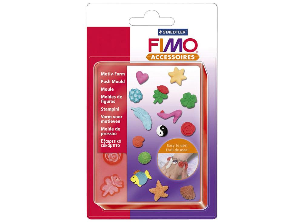 Формы FIMO «Бижутерия»Инструменты для лепки<br><br><br>Артикул: 8725 01<br>Количество: 14 форм