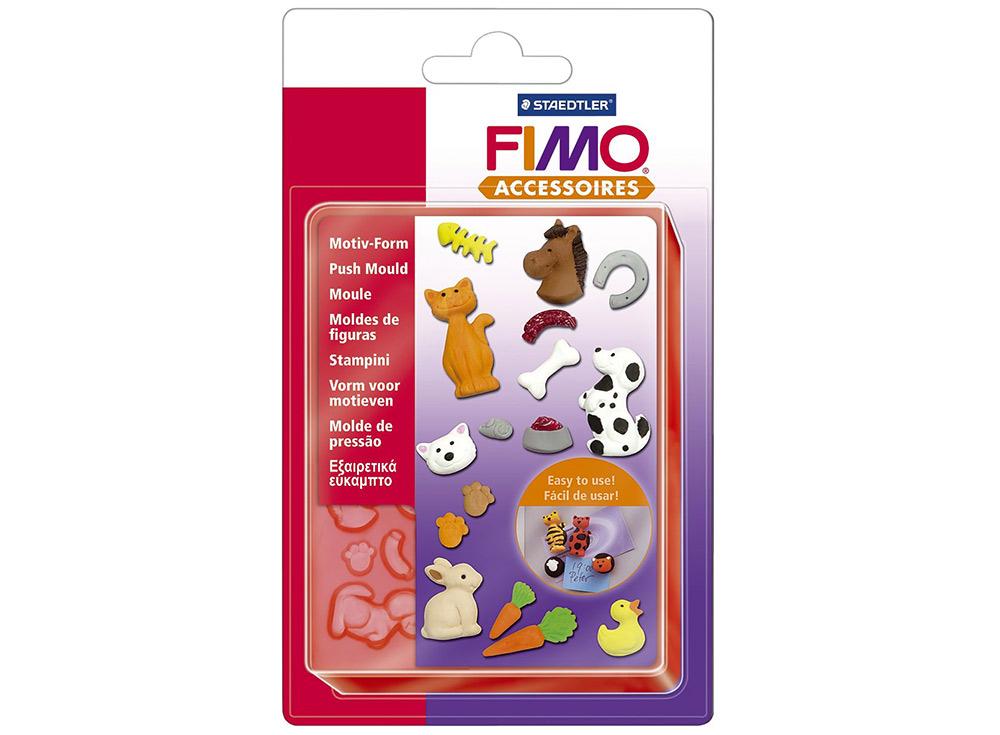 Формы FIMO «Домашние животные»Инструменты для лепки<br><br><br>Артикул: 8725 02<br>Количество: 10 форм