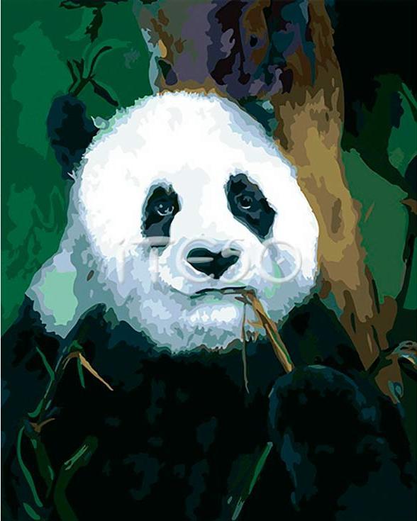 «Задумчивая панда» Линн РэттрейIteso<br><br><br>Артикул: A238i<br>Основа: Холст<br>Сложность: очень сложные<br>Размер: 40x50 см<br>Количество цветов: 26<br>Техника рисования: Без смешивания красок