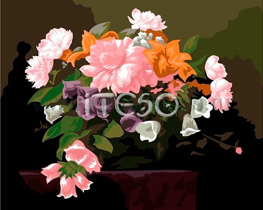 «Вдохновение»Iteso<br><br><br>Артикул: A325<br>Основа: Холст<br>Сложность: сложные<br>Размер: 40x50 см<br>Количество цветов: 23<br>Техника рисования: Без смешивания красок