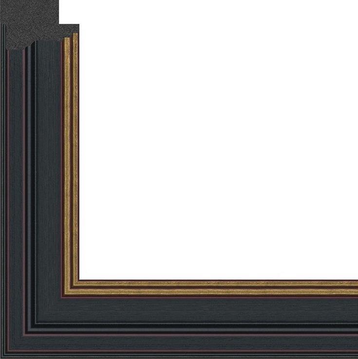 Рамка без стекла для картин «Arthouse»Багетные рамки<br>В комплект входит: рамка, задняя подложка, фурнитура для крепления. Стекло в комплект не входит. При необходимости приобретайте стекло отдельно.<br> Перед вами универсальная рама, в которую можно оформить как картины на картоне, алмазную вышивку, фотографии...<br><br>Артикул: g3848/21<br>Размер: 38x48 см<br>Цвет: Черный и золото<br>Ширина: 33<br>Материал багета: Пластик<br>Глубина багета: 9 мм