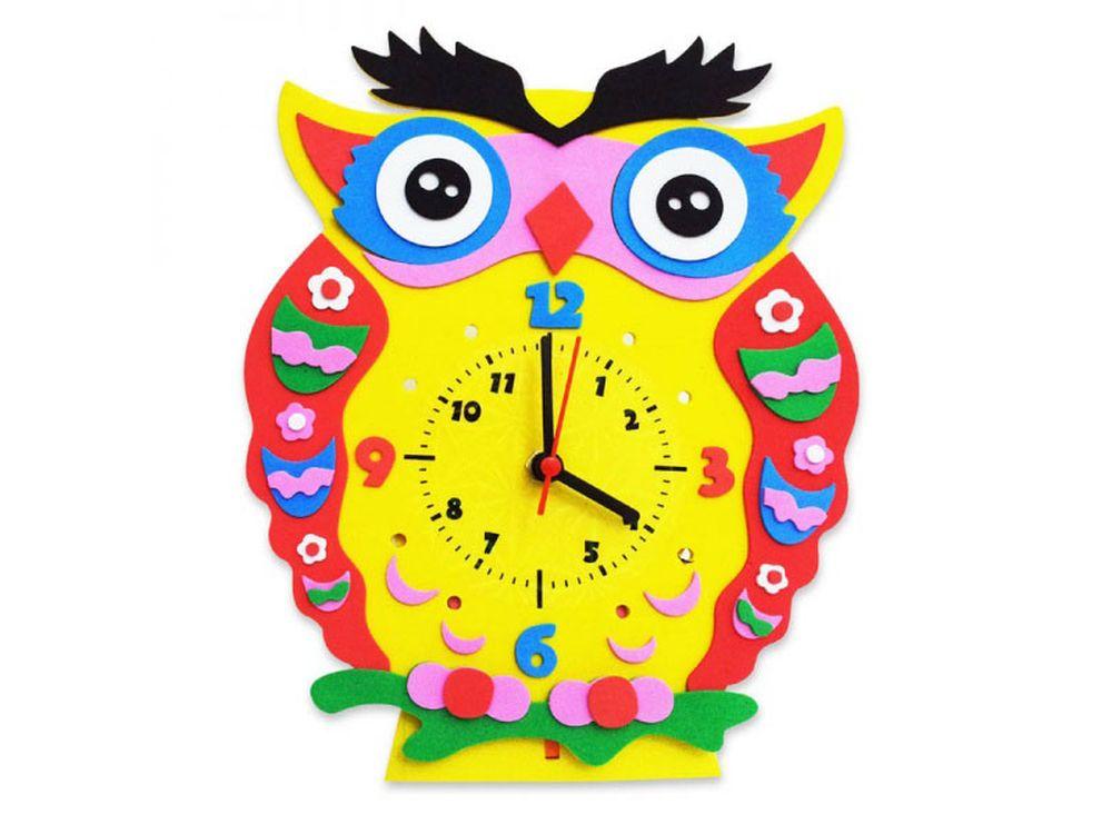 Набор для творчества «Сова часы»Наборы из фоамирана<br><br><br>Артикул: CL001<br>Основа: Фоамиран<br>Возраст: от 3 лет