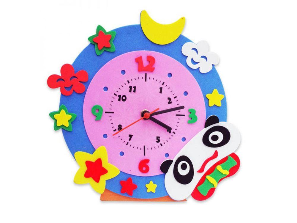 Набор для творчества «Панда часы»Наборы из фоамирана<br><br><br>Артикул: CL004<br>Основа: Фоамиран<br>Возраст: от 3 лет