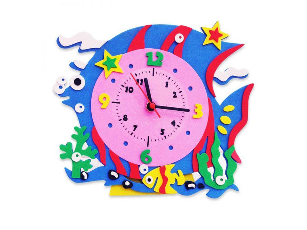 Набор дл творчества «Рыбка часы»Наборы из фоамирана<br><br><br>Артикул: CL008<br>Основа: Фоамиран<br>Возраст: от 3 лет