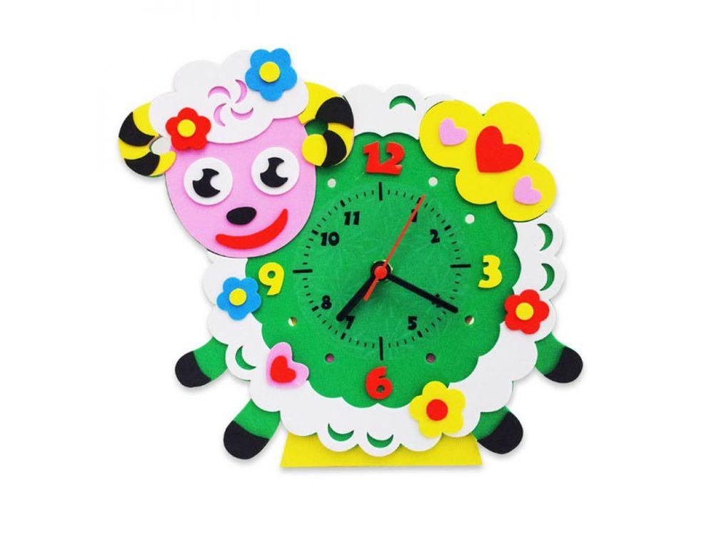 Набор дл творчества «Овечка часы»Наборы из фоамирана<br><br><br>Артикул: CL009<br>Основа: Фоамиран<br>Возраст: от 3 лет
