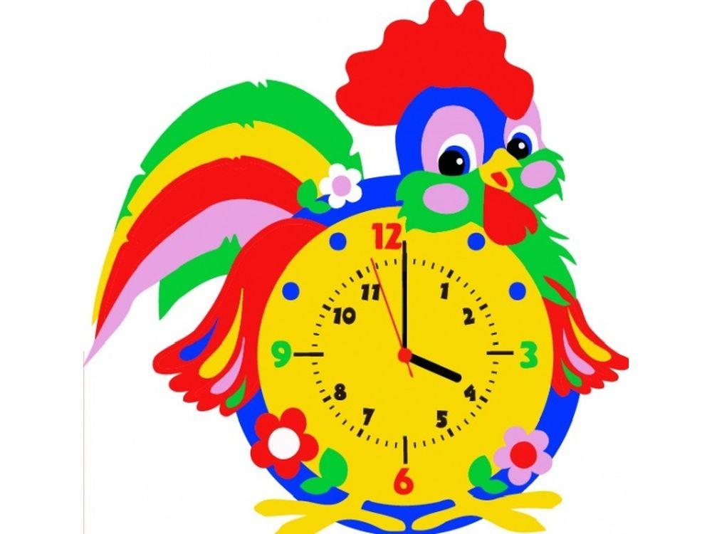 Набор для творчества «Петух часы»Наборы из фоамирана<br><br><br>Артикул: CL013<br>Основа: Фоамиран<br>Возраст: от 3 лет