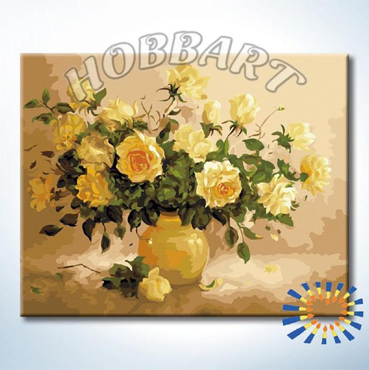 «Чайная роза» Эльжбьеты КолодзейскайHobbart<br><br><br>Артикул: DZ4050037<br>Основа: Холст<br>Сложность: средние<br>Размер: 40x50 см<br>Количество цветов: 30<br>Техника рисования: Без смешивания красок