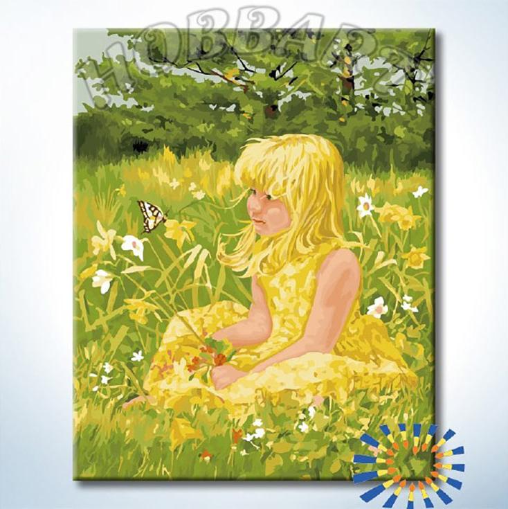Картина по номерам «На поляне»Hobbart<br><br><br>Артикул: DZ4050039<br>Основа: Холст<br>Сложность: сложные<br>Размер: 40x50 см<br>Количество цветов: 29<br>Техника рисования: Без смешивания красок