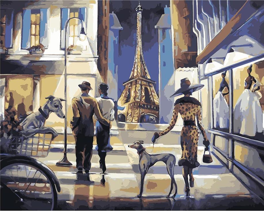«Парижский шопинг» Триш БиддлРаскраски по номерам Paintboy (Original)<br><br><br>Артикул: GX8415_R<br>Основа: Холст<br>Сложность: сложные<br>Размер: 40x50 см<br>Количество цветов: 25<br>Техника рисования: Без смешивания красок