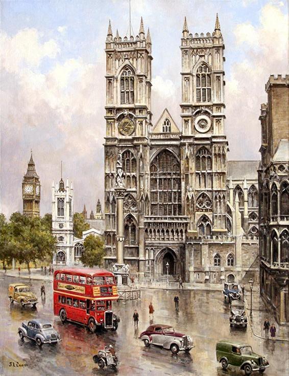 «Вестминстерское аббатство» Джона ЧапменаPaintboy (Premium)<br><br><br>Артикул: GX9791<br>Основа: Холст<br>Сложность: сложные<br>Размер: 40x50 см<br>Количество цветов: 25<br>Техника рисования: Без смешивания красок