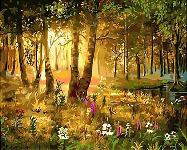 Картина по номерам «Утром» Виктора ЦыгановаРаскраски по номерам Paintboy (Original)<br><br><br>Артикул: GX9905_R<br>Основа: Холст<br>Сложность: сложные<br>Размер: 40x50 см<br>Количество цветов: 25<br>Техника рисования: Без смешивания красок