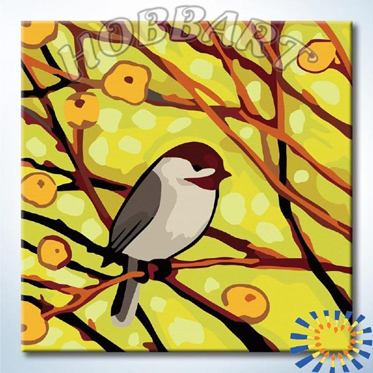 «В весенних лучах»Hobbart<br><br><br>Артикул: HB2020082<br>Основа: Холст<br>Сложность: легкие<br>Размер: 20x20<br>Количество цветов: 16<br>Техника рисования: Без смешивания красок