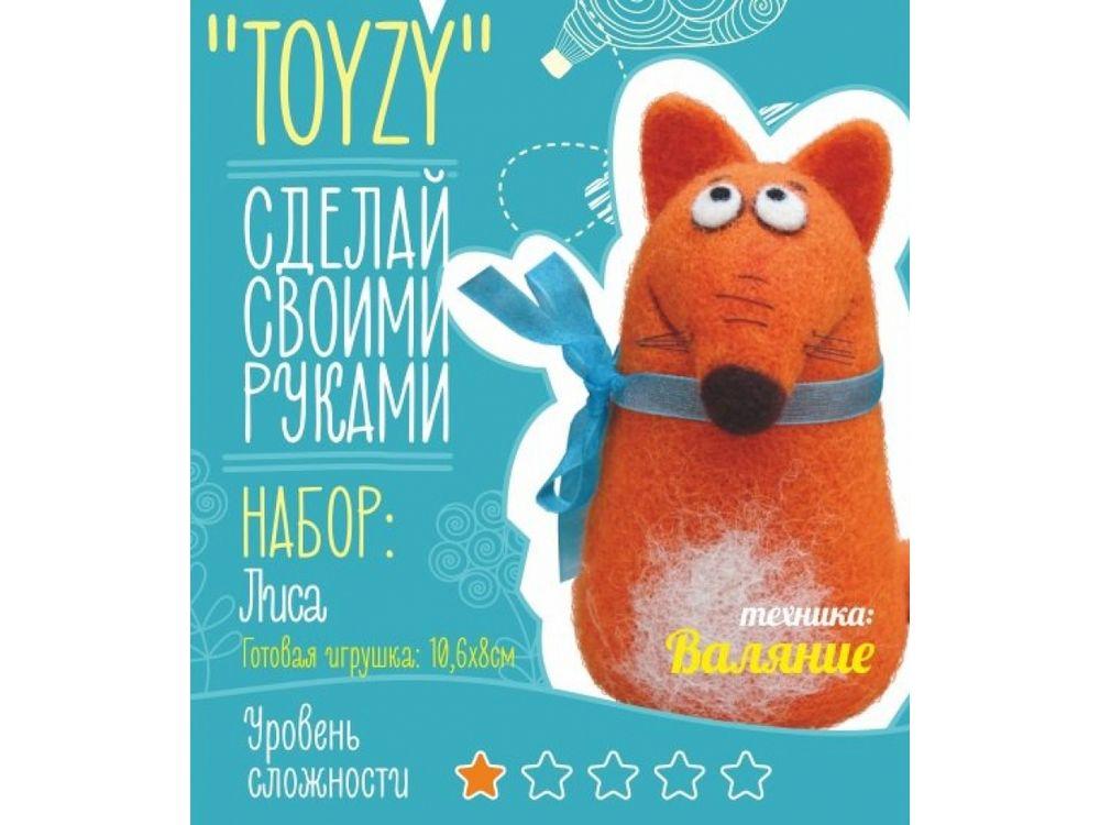Набор Toyzy «Лиса»Валяние игрушек<br>Игрушка, изготовленная своими руками для ребенка или любимого человека, - один из самых трогательных и бережно хранимых подарков. Наборы TOYZY позволяют воплотить смелые желания по рукоделию в жизнь без затрат времени на поиск нужных матери...<br><br>Артикул: TZ-F016<br>Сложность: очень легкие<br>Размер: 10,6x8 см<br>Тип шерсти: Новозеландская кардочесанная шерсть<br>Техника: Валяние