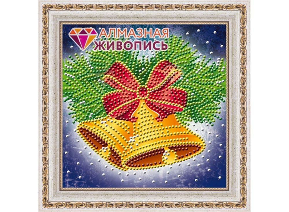 Алмазная вышивка Алмазная живопись Стразы «Колокольчики» АЖ-3013