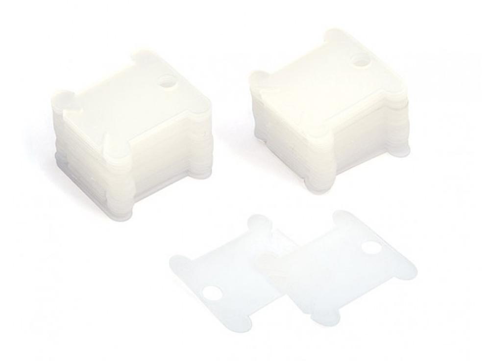 Шпули пластиковые прозрачные (50 шт.)
