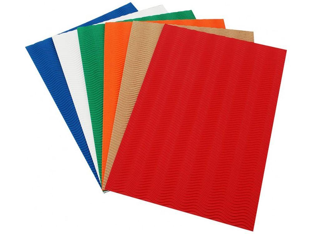 Набор бумаги «Шесть цветов»Бумага и материалы для скрапбукинга<br><br><br>Артикул: 039-SB<br>Размер: 22х32,5 см