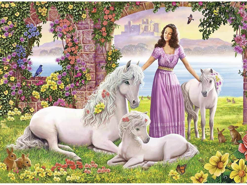 Пазл «Сказочное королевство»Ravensburger<br>Пазл - игра-головоломка, мозаика, состоящая из множества фрагментов, различающихся по форме.<br> По мнению психологов, игра в пазлы способствует развитию логического мышления, внимания, воображения и памяти. Пазлы хороши для всех возрастов - и ребенка-дошко...<br><br>Артикул: 10008<br>Размер: 49x36 см