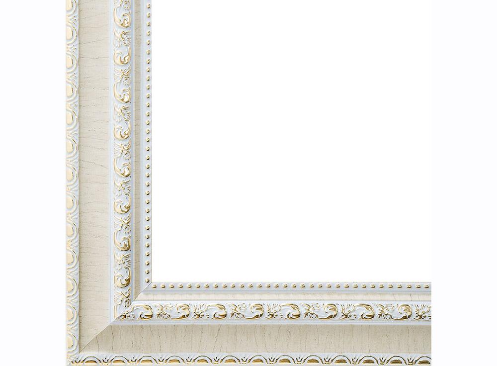 Рамка для картин «Donna»Багетные рамки<br><br><br>Артикул: 1071-BL<br>Размер: 30x40 см<br>Цвет: Серебро<br>Ширина: 50 мм<br>Материал багета: Пластик