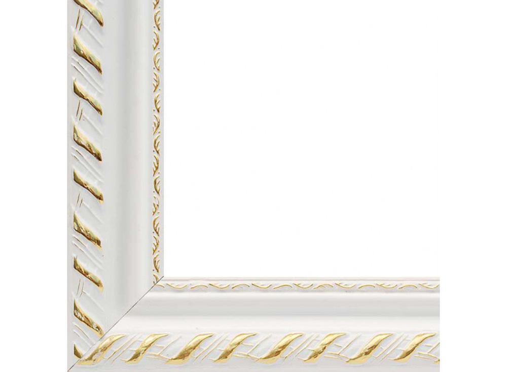 Рамка для картин «Kleopatra»Багетные рамки<br><br><br>Артикул: 1595-BL<br>Размер: 30x40 см<br>Цвет: Белый<br>Ширина: 42 мм<br>Материал багета: Дерево