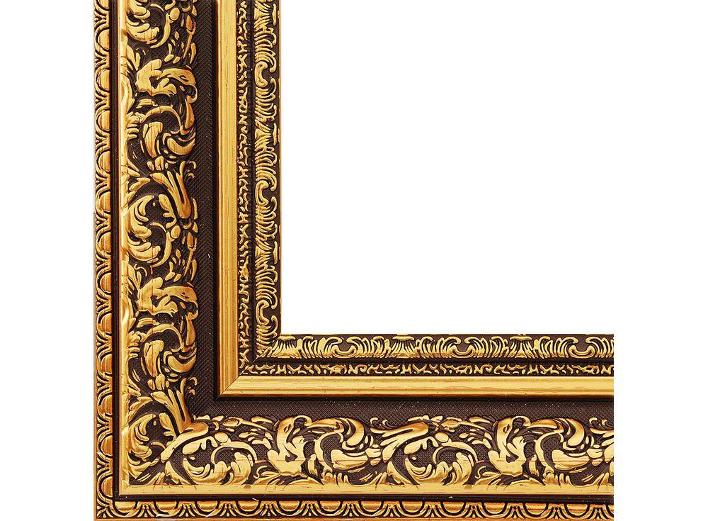 Рамка для картин «Melissa»Багетные рамки<br><br><br>Артикул: 2322-BB<br>Размер: 40x50 см<br>Цвет: Коричневый и золото<br>Ширина: 56 мм<br>Материал багета: Пластик<br>Глубина багета: 8 мм