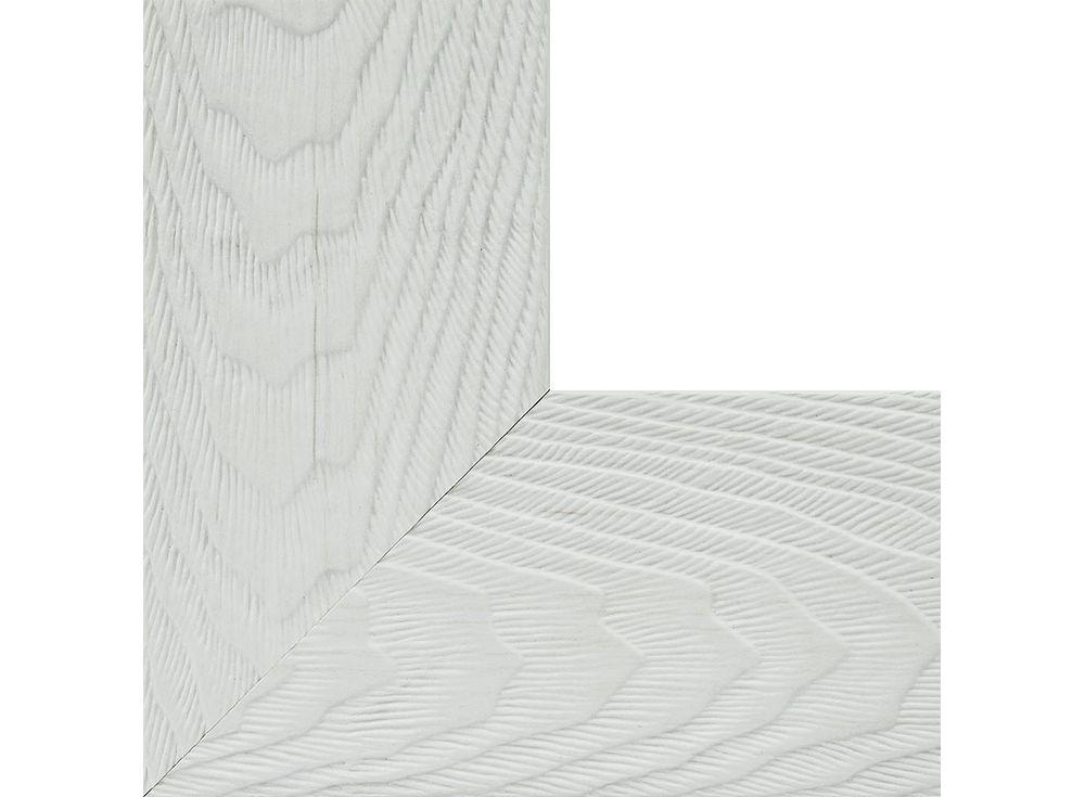Рамка для картин «Lisa»Багетные рамки<br><br><br>Артикул: 2625-BB<br>Размер: 40x50 см<br>Цвет: Белый<br>Материал багета: Пластик