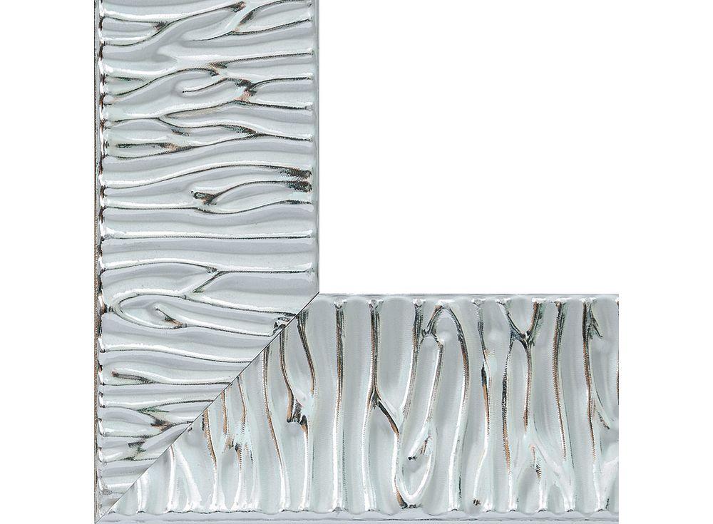 Рамка для картин «Nikki»Багетные рамки<br><br><br>Артикул: 2635-BB<br>Размер: 40x50 см<br>Цвет: Серебро<br>Материал багета: Дерево