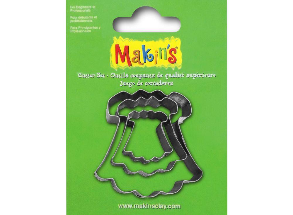Набор каттеров Makins «Платье»Полимерная глина<br><br>