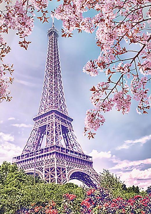 Стразы «Весна в Париже»Алмазная вышивка Гранни<br><br><br>Артикул: Ag542<br>Основа: Холст без подрамника<br>Сложность: средние<br>Размер: 27x38 см<br>Выкладка: Полная<br>Количество цветов: 32<br>Тип страз: Квадратные