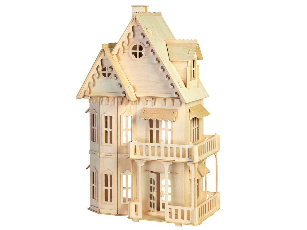Конструктор «Готический дом»Сборные деревянные модели<br>Конструкторы от производителя Чудо-дерево для детей и взрослых, для подарка и личного интересного досуга – теперь на Цветное.ру. Многообразие моделей позволит сделать выбор даже самому требовательному покупателю. <br> <br> Приобретая конструктор от производит...<br><br>Артикул: DH001<br>Вес: 2,43 кг<br>Размер готовой модели: 64x40x24 см<br>Материал: Дерево<br>Упаковка: картонная коробка<br>Размер упаковки: 29,5 x 3,3 x 45,0 см<br>Количество пластин заготовок шт: 11<br>Размер пластин: 45x29,5x0,3 см<br>Возраст: от 5 лет