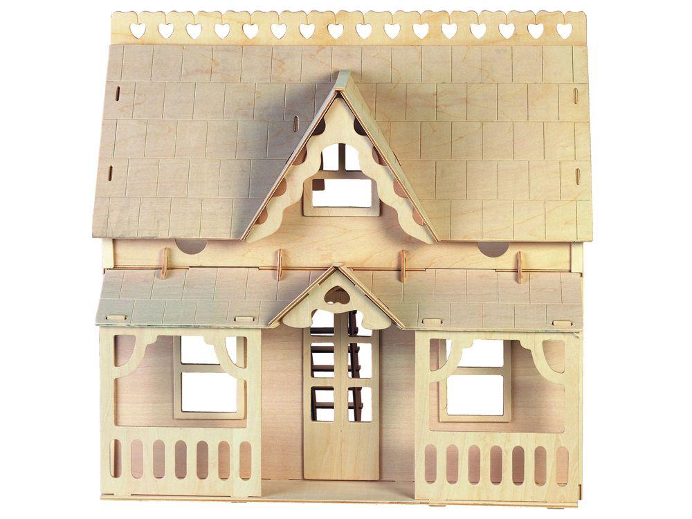 Конструктор «Дом с верандой»Сборные деревянные модели<br>Конструкторы от производителя Чудо-дерево для детей и взрослых, для подарка и личного интересного досуга – теперь на Цветное.ру. Многообразие моделей позволит сделать выбор даже самому требовательному покупателю. <br> <br> Приобретая конструктор от производит...<br><br>Артикул: DH003<br>Вес: 1,54 кг<br>Размер готовой модели: 40,2x56x41,6 см<br>Материал: Дерево<br>Упаковка: картонная коробка<br>Размер упаковки: 29,5 x 2,1 x 45,0 см<br>Количество пластин заготовок шт: 7<br>Размер пластин: 45x29,5x0,3 см<br>Возраст: от 5 лет