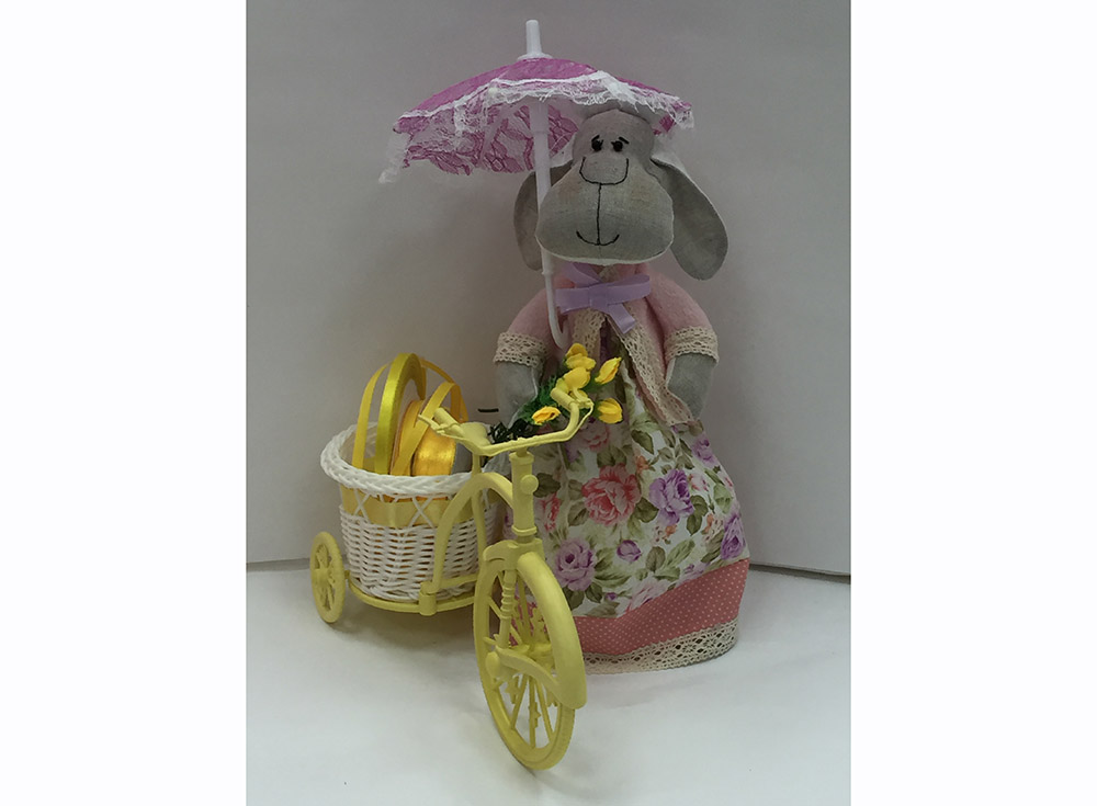 Набор для шитья «Овечка Неженка»Наборы для шитья кукол<br><br><br>Артикул: DIE010<br>Основа: Текстиль<br>Сложность: очень сложные<br>Размер: Высота готовой игрушки 35 см<br>Техника: Шитье<br>Упаковка: Пакет