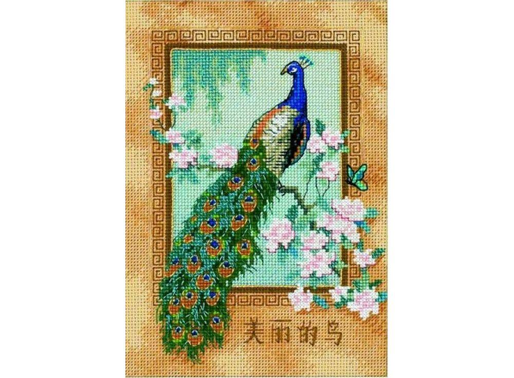 Набор для вышивания «Прекрасная птица»Dimensions<br><br><br>Артикул: DMS-06870<br>Основа: канва Aida 18<br>Сложность: средние<br>Размер: 13x18 см<br>Техника вышивки: счетный крест<br>Тип схемы вышивки: Цветная схема<br>Цвет канвы: Бежевый<br>Количество цветов: 20-35<br>Заполнение: Частичное<br>Рисунок на канве: не нанесён<br>Техника: Вышивка крестом